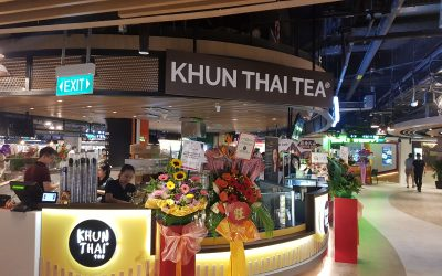 KHUN THAI TEA EXPANDS IN ASIA