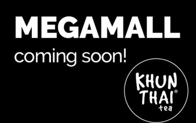 Khun Thai Tea To Open 3rd Kiosk In Manila, Philippines at MegaMall